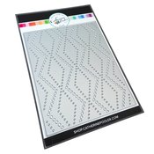 Dotted Zig Zag Cover Plate Die - Jolly Holiday - Catherine Pooler