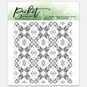 Sweater Pattern Maker 4x4 Stamp Set - Picket Fence Studios