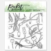 All Wired Seamless 4x4 Stamp Set - Picket Fence Studios