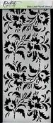 Slim Line Floral Stencil 4x8 - Picket Fence Studios
