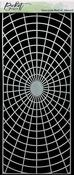 Slim Line Radial Stencil 4x8 - Picket Fence Studios