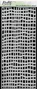 Slim Line Broken Fence Stencil - Picket Fence Studios