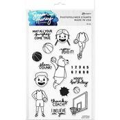 Slam Dunk Stamps - Simon Hurley