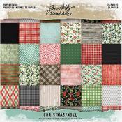 Christmas Idea-Ology Paper Stash Paper Pad 8x8 - Tim Holtz