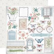 Full Bloom Paper - Flower Shoppe - KaiserCraft