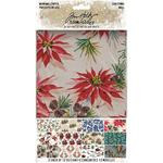 Christmas Idea-Ology Worn Wallpaper 5x8 - Tim Holtz