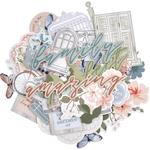 Flower Shoppe Collectables Cardstock Die-Cuts - KaiserCraft