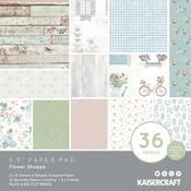 Flower Shoppe 6x6 Paper Pad - KaiserCraft