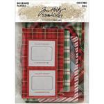 Christmas Idea-Ology Chipboard Baseboards - Tim Holtz
