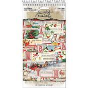 Christmas Idea-Ology Sticker Book - Tim Holtz