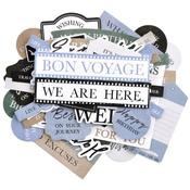 Explorer Sentiment Collectables Cardstock Die-Cuts - KaiserCraft