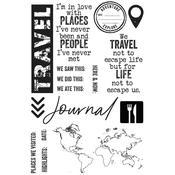 Explorer Kaisercraft Clear Stamp - KaiserCraft