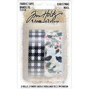 Christmas Idea-Ology Fabric Tape - Tim Holtz
