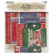 Christmas Idea-Ology Vignette Box Tops - Tim Holtz - PRE ORDER
