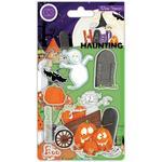 Happy Haunting Pumpkins Stamps - Craft Consortium