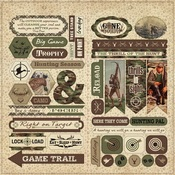 Hunting Elements Cardstock - Authentique - PRE ORDER