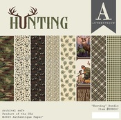 Hunting 6x6 Paper Pad - Authentique - PRE ORDER