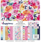 Happiness 12x12 Collection Kit - Cocoa Vanilla