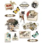 Simple Vintage Ancestry Layered Stickers - Simple Stories