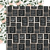 Coffee Shop Wall Paper - Coffee & Friends - Echo Park