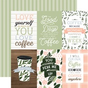 4x6 Journaling Cards Paper - Coffee & Friends - Echo Park