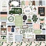 Coffee & Friends Element Sticker - Echo Park