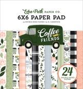 Coffee & Friends 6x6 Paper Pad - Echo Park - PRE ORDER
