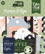 Coffee & Friends Frames & Tags - Echo Park