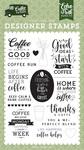 Coffee Run Stamp Set - Echo Park