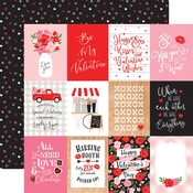 3x4 Journaling Cards Paper - Cupid & Co - Echo Park
