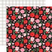 Valentine Floral Paper - Cupid & Co - Echo Park