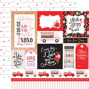 Multi Journaling Cards Paper - Cupid & Co - Echo Park
