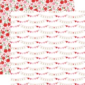 XOXO Banners Paper - Cupid & Co - Echo Park