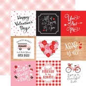 4x4 Journaling Cards Paper - Cupid & Co - Echo Park