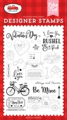 Be Mine Stamp Set - Echo Park