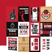 3x4 Journaling Cards Paper - Basketball - Echo Park
