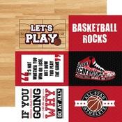 4x6 Journaling Cards Paper - Basketball - Echo Park
