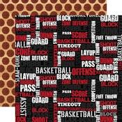 Basketball Words Paper - Basketball - Echo Park