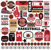 Basketball Element Sticker - Echo Park