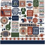 Football Element Sticker - Echo Park