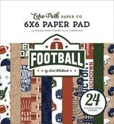 Football 6x6 Paper Pad - Echo Park - PRE ORDER