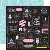 Make A Wish Paper - Magical Birthday Girl - Echo Park