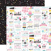 Birthday Magic Paper - Magical Birthday Girl - Echo Park - PRE ORDER