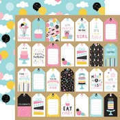 Gift Tags Paper - Magical Birthday Girl - Echo Park - PRE ORDER