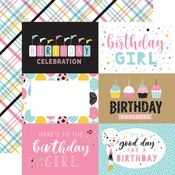 6x4 Journaling Cards Paper - Magical Birthday Girl - Echo Park - PRE ORDER