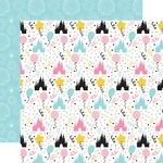 Castles Paper - Magical Birthday Girl - Echo Park - PRE ORDER