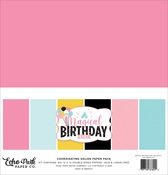 Magical Birthday Girl Solids Kit - Echo Park - PRE ORDER