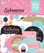 Magical Birthday Girl Ephemera - Echo Park - PRE ORDER