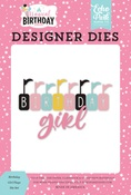 Birthday Girl Flags Die Set - Echo Park - PRE ORDER