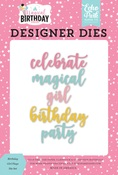 Magical Birthday Girl Word Die Set - Echo Park - PRE ORDER
